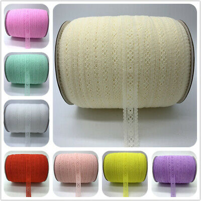 $1.38 • Buy 5-500 Yards 20mm Handicrafts Embroidered Lace Trim Ribbon Handmade Decorations