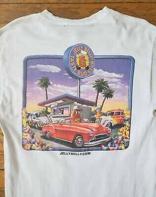 $34.95 • Buy 90s Jelly Belly – Jelly Beans Candy T Shirt Vintage VTG (M)
