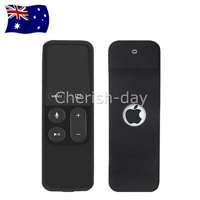 AU6.95 • Buy Remote Cover Skin For Case Silicone Apple TV 4th Gen Protective Controller OZ