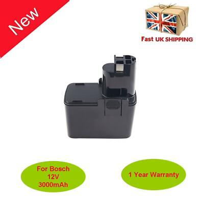 £22.79 • Buy 12V 3.0AH Ni-MH Drill Battery For BOSCH Replace 2607335185 2607335243 2607335244