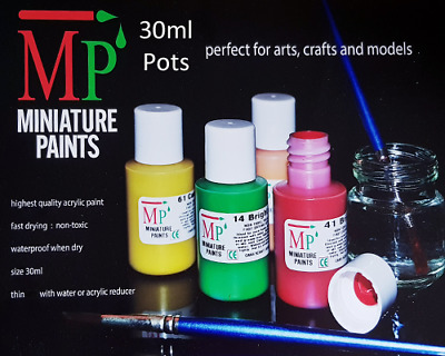 £3.25 • Buy 30ml  Acrylic Model Airfix / Rail / Game Paints 77 Various Colours 2 Select From