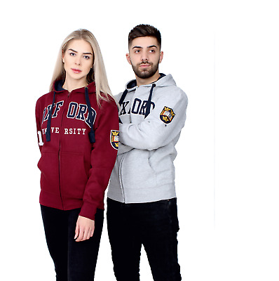 £21.99 • Buy Official Licensed Oxford University Embroidered Zipped Hoodie