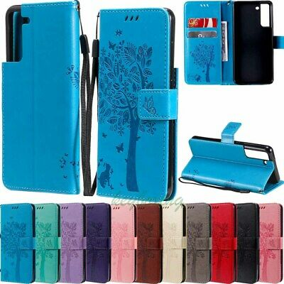 $ CDN5.95 • Buy For Samsung S21 FE S20 S10 S9 S8 Plus S7 Wallet Card Holder Leather Case Cover
