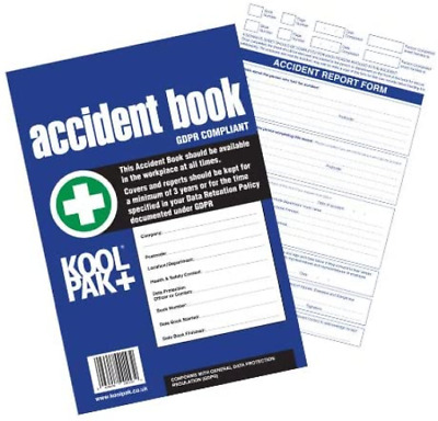 £4.30 • Buy Koolpak GDPR Compliant Business/Workplace Accident Report Book - A4