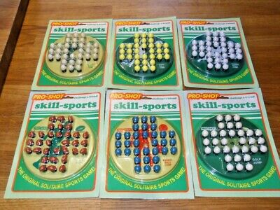 £17.50 • Buy Vintage Solitaire Sports Game,  Pro-shot, 6 Different Games To Choose From,