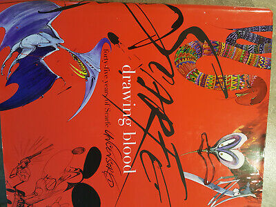 £25 • Buy Gerald Scarfe Signed Drawing Blood As New