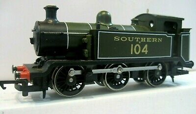 £52 • Buy Hornby R261 Southern Railways Olive Green Class E2,  104 , 00 Gauge