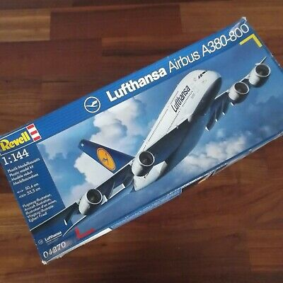 £19.99 • Buy Revell 04270 Lufthansa Airbus A380-800 1/144 Scale Model Kit Sealed SEE THE DESC