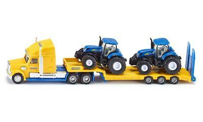 £16.80 • Buy SIKU (1805) 1:87 Scale Toy HGV Low Loader & 2 New Holland T7070 Tractors - BA