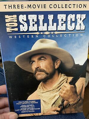 £4.95 • Buy Tom Selleck Western Collection - DVD