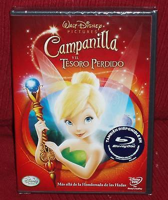 £23.15 • Buy Tinkerbell Y The Lost Treasure DVD Disney New Sealed (Sleeveless Open) R2