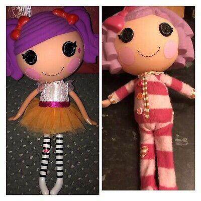 £15 • Buy 2009 Lalaloopsy Dolls 'Pillow Featherbed'(retired),'Peanut Big Top' 12inch Both