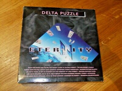 £9.50 • Buy Eternity Delta Puzzle Game 14 Pc Brain Teaser Age 14+ From ERTL
