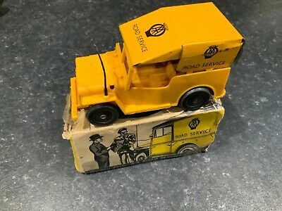 £99.95 • Buy Mettoy A.A. Land Rover Jeep Plastic & Tinplate Friction Drive Boxed Very Rare