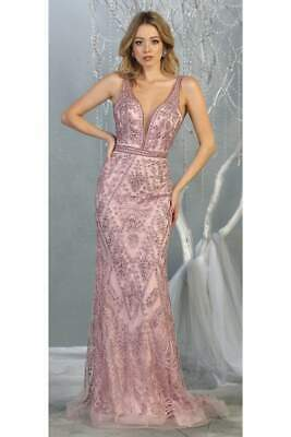 AU334.05 • Buy Special Occasion Embroidered Formal Gown