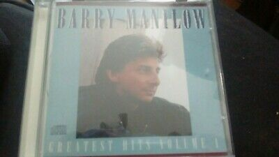 £1 • Buy Barry Manilow Greatest Hits Volume 1  Usa Pressing Cd