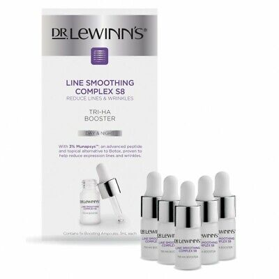 £42.39 • Buy DR. LEWINN'S Line Smoothing Complex Hyaluronic Acid Booster 3mL 5 Pack