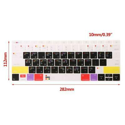 £3.09 • Buy Universal Colorful Silicone Keyboard Skin Cover Sticker For 13  15  17  MacBook