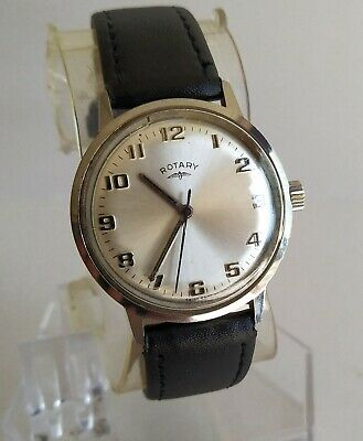 £13.05 • Buy Rotary Vintage Swiss Made Gents Watch AS ST 1950/51 Running Fast