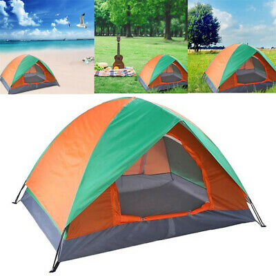 £19.99 • Buy 2-3 Man Pop UpTent Automatic Instant Double Layer  Camping Waterproof Outdoor UK