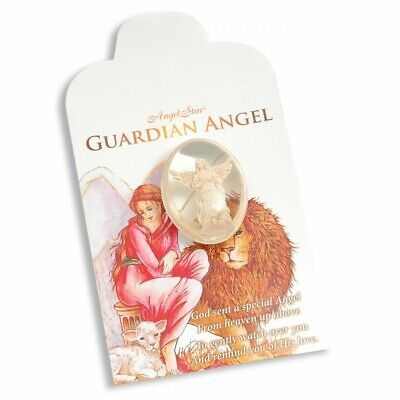 £4.90 • Buy Angel Stone - Guardian Angel For Protection And Comfort