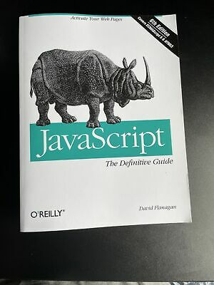 £4.30 • Buy Javascript The Definitive Guide (6th Edition)
