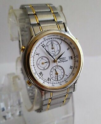 $ CDN17.17 • Buy SEIKO Chronograph Vintage Gents Watch 7T32-F010 Spares/Repairs