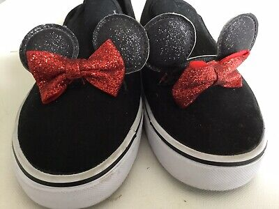 £10 • Buy Disney Minnie Mouse Slip On Trainers Size 6/39 US8 Primark