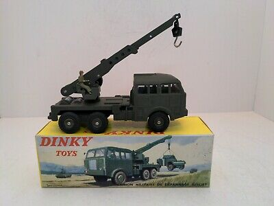 £176.29 • Buy Dinky Toys 826 Berliet Army Wrecker 1965-71 With Box, Made In France MINT