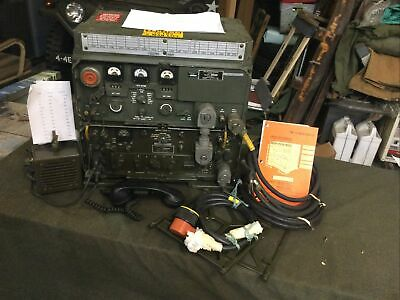 $1100 • Buy Fully Serviced GRC-106 +ACCY's MILITARY RADIO TRANSCEIVER Rt-662 Am3349 On Air