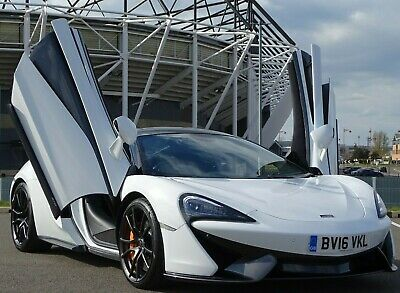 £87500 • Buy 2016 Mclaren 570s Coupe 3.8 V8 Paddle Shift White Only 6k Miles Amazing Supercar