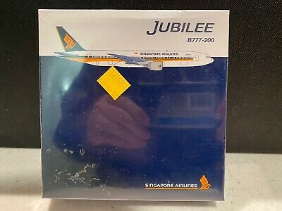 AU89.95 • Buy Singapore Airlines B777-200 Jubilee 1/500 Herpa Aircraft Toy Die Cast