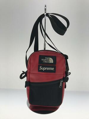 $ CDN561.01 • Buy Supreme  Leather Red Leather Red Fashion Shoulder Bag 3926 From Japan