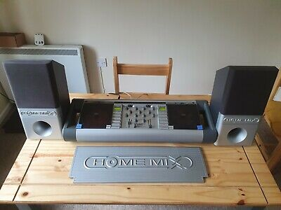 £74.99 • Buy Acoustic Solutions Home Mix CD3 Twin CD DJ Mixer With Speakers