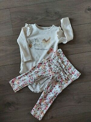 £1.49 • Buy Tu Disney Baby Thumper And Bambi Bodysuit And Trouser Set 12-18 Months