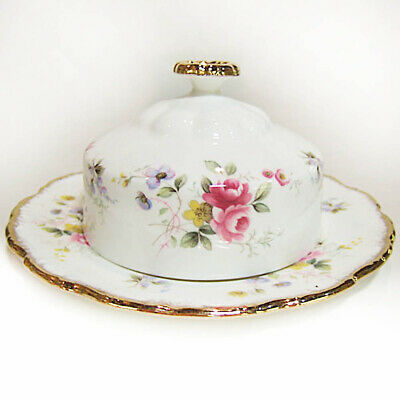 £88.49 • Buy ROYAL ALBERT TENDERNESS COVERED BUTTER DISH SET Made In England NEW NEVER USED