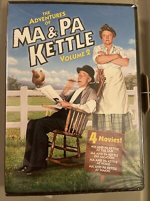 $6.90 • Buy The Adventures Of Ma And Pa Kettle DVD  Volume 2-New 4 Comedies