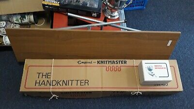 £250 • Buy Knitmaster Empisal HK160 Mid Gauge Punch Card The Hand Knitting With Table