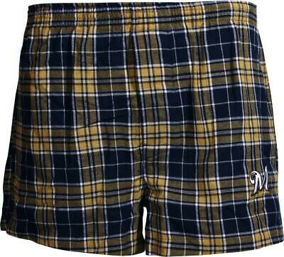 $14.99 • Buy Milwaukee Brewers Roster Flannel Boxers