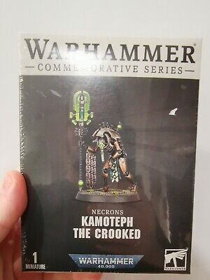 £29 • Buy Warhammer 40k Necron Cryptek Kamoteph The Crooked Limited Edition Store...