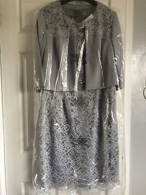 £60 • Buy Occasion / Mother Of Bride/groom Jacket And  Dress Size 18