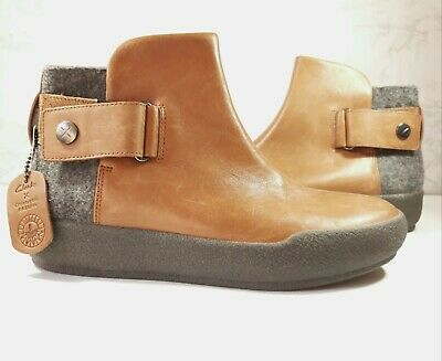 £44.95 • Buy Clarks Christopher Raeburn Ankle Boots Shilin Ali Tan Combi Leather Size 6.5
