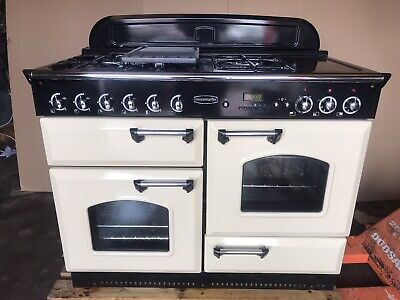 £850 • Buy Rangemaster Classic 110 Cream FSD Dual Fuel Cooker. In Excellent Condition