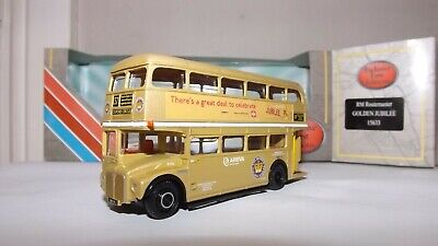 £6.50 • Buy Efe 15633 London Transport Rm Class Jubilee Routemaster D/d Bus 4mm 1:76 Scale