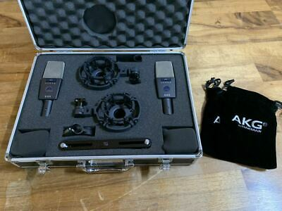 £559.43 • Buy AKG C414 XLS Dynamic Cable Professional Microphone W/ Case