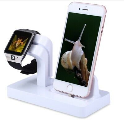 AU15 • Buy 2 In 1 Smart Watch Mobile I Phone Charging Stand For Apple Smat Watch & I Phone.