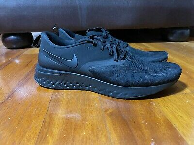 AU109.99 • Buy Nike Odyssey React 2 Black Running Shoes Mens Size Us9-12 Rrp $180 Infinity Epic