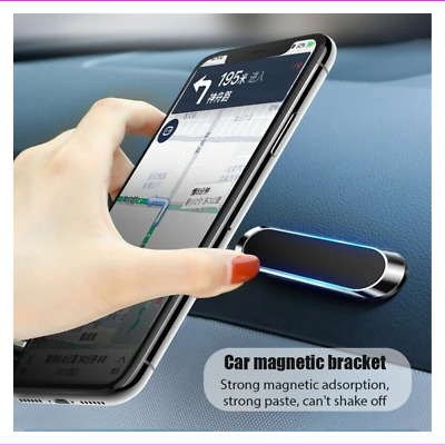 $0.99 • Buy Strip Shape Magnetic Car Phone Holder Stand For IPhone Magnet Mount Accessories