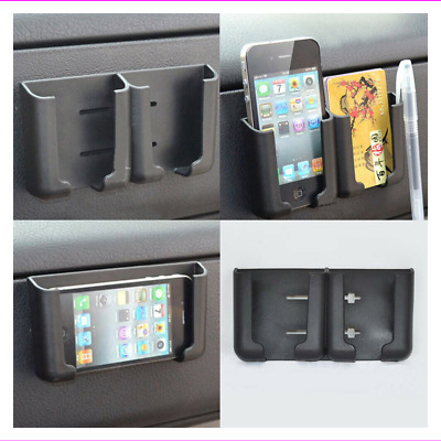 $0.99 • Buy Car Interior Accessories Phone Card Pen Holder Stand Cradle Console Bracket Box