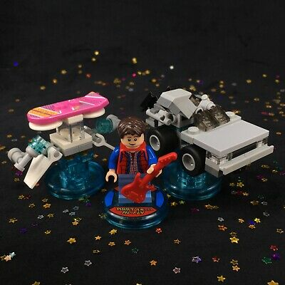 AU62 • Buy LEGO Dimensions Marty McFly Back To The Future LEVEL Pack 71201 Minifigure BTTF